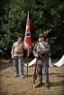 Przygotowania do bitwy. Po lewej Krystian, który przyjechał ze mną i z Piotrem z Wrocławia.